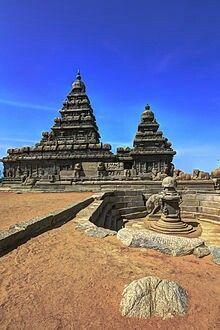 The Sea Shore Temple, Mamallapuram, Tamil Nadu