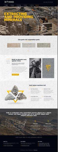 BeTheme - Mining Responsive Demo Wordpress / Респонсивный демо сайт компании по добычи полезных ископаемых #theme #wordpress #responsive #mining #шаблон #сайт #вордпресс #майнинг #ископаемые