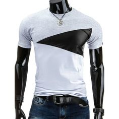12.03$  Watch here - http://di30m.justgood.pw/go.php?t=180430607 - Casual Round Collar Pullover Color Block Men's T-Shirt 12.03$