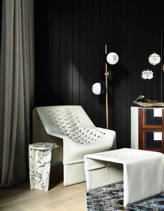 Into the lavish world of interiors by Featuring the striking Gueridon Coffee Table by Frédéric Fourrichon for Fratelli Speranza, the Urban Floor Lamp by and the Cubo Short Sideboard by Read the interview with Simone Haag on Artemest Magazine. Australian Interior Design, Interior Design Awards, Residential Interior Design, Best Interior Design, Interior Design Studio, Interior Architecture, Interior Stylist, Interior Paint, Residential Lighting