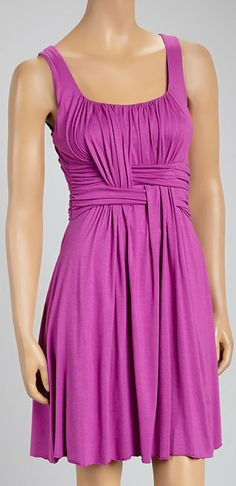 Orchid Weave Sleeveless Dress