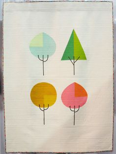 Die Beem (Trees) by Lindsey Neill ( @penandpaperpatterns )