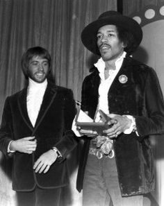 World's Top Muscian-Disc at Music Echo Award Show 1969 with Maurice Gibb