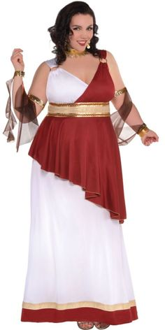 Plus size egyptian dress