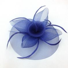 Elegant Lady Women Fascinator Hat Clips Hairpins Hair Accessories Church Wedding Party Hair Decoration Accessories