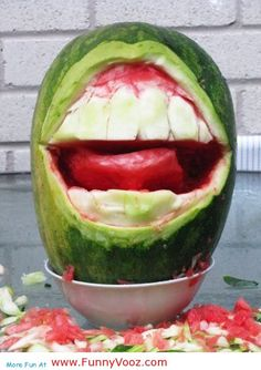 cool melon funny smile - canada funny pictures