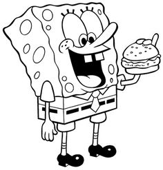 Printable Coloring Pages Free Coloring Pages Spongebob Coloring
