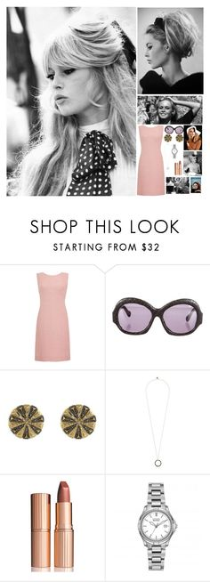 """Fc For a RP"" by nikkimarie-1123 ❤ liked on Polyvore featuring GE, House of Harlow 1960, Bardot and Charlotte Tilbury"
