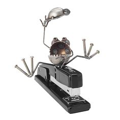 Now, this is classic: A frog stapler wrangler. Perfect for the person who has everything because, really, who already has this?