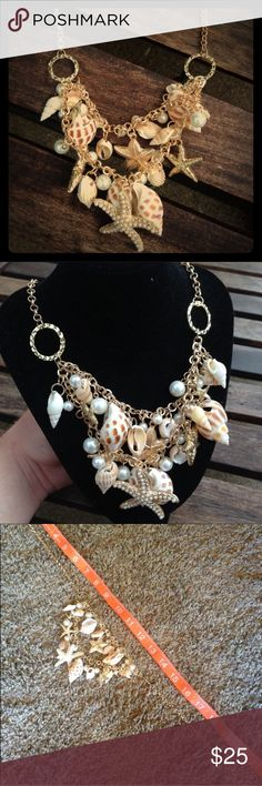 (S1) Gorgeous Shell Necklace See picture. Gorgeous piece!!! Jewelry Necklaces