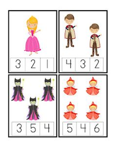 count printables for kıds Preschool Printables, Preschool Worksheets, Preschool Learning, Fairy Tales Unit, Fairy Tale Theme, Numbers Kindergarten, Pre K Activities, Math For Kids, Kids Education