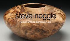 Natural Edge Wood Bowls By Woodworking Artist Steve Noggle Wood Vase, Wood Bowls, Got Wood, Turned Wood, Woodworking Guide, Wood Turning, Vases, Natural, Artist