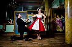 Casamento burlesco e com referências dos anos 20 | Noivinhas de Luxo  www.noivinhasdeluxo.com.br