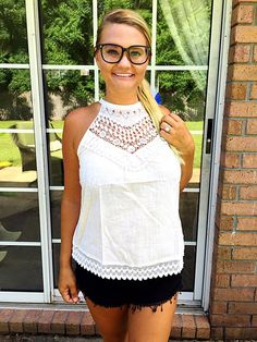 Bless Your Heat halter top is now 50% off! Get yours at Pinkromperboutique.com