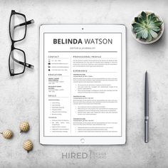Hired Design Studio Cover Letter Tips, Cover Letter Template, Cv Template, Resume Templates, Simple Resume, Modern Resume, Resume Cv, Resume Writing, Create A Resume