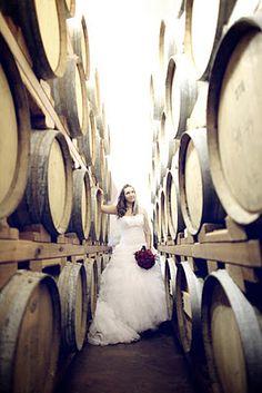 Bridal Photography - Barrel Room