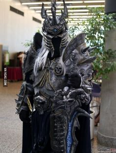 Lich King Cosplay from Montreal Comic-Con 2015