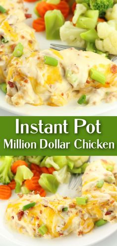 Easy dump and go Instant Pot recipe with chicken, bacon, ranch and cheese! Quick Easy Dinner, Quick Meals, Easy Dinner Recipes, Instant Pot Pressure Cooker, Pressure Cooker Recipes, Slow Cooker, Chicken Bacon, Yum Yum Chicken, Keto Beginner