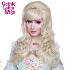 Gothic Lolita Wigs® <br> Princess™ Collection - Light Medium Blonde