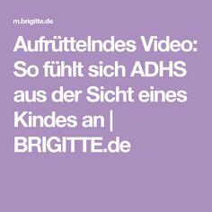3cf8cd9ab0 Aufrüttelndes Video  So fühlt sich ADHS aus der Sicht eines Kindes an