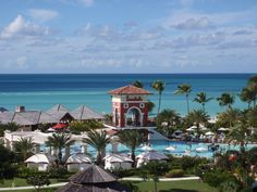 look at that water! Sandals Antigua <3