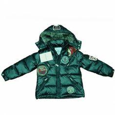 France Moncler Himalaya Multiple Logo Green Jacket Moncler Kids Online Sales