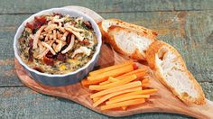 Chew Viewer - Spinach, Bacon & Onion Dip