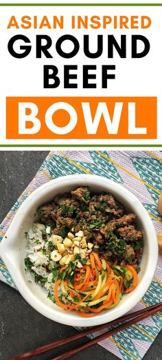If you're all stocked up and looking for new ground beef recipes, try this Asian beef bowl with cucumber carrot salad. It's a nutritious balanced dinner and a great unique ground beef idea that you might not have tried yet. Best Mushroom Recipe, Mushroom Recipes, Mushroom Side Dishes, Mushroom Appetizers, Asian Beef, Beef Salad, Soup And Sandwich, Ground Beef Recipes