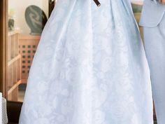 Hi Low skirt dress Elegant Outfit, Elegant Dresses, Hi Low Skirts, Wedding Wear, Babyshower, High Low, Bridal Shower, Light Blue, Floral
