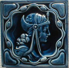 Art nouveau - West side art tiles, Germany