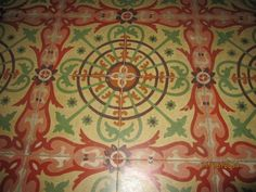 Old Cuban floors, most houses have them. Cuban Tile from Spain who were got them from the Moroccoans who invaded the south of Spain. Cuban Decor, Hacienda Decor, Viva Cuba, Cuban People, Cuban Culture, South Of Spain, Havana Cuba, Beautiful Islands, Second Life