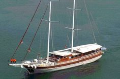 #Gulet Yacht for large groups in Turkey