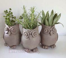 owl-herb-clay-pots.jpg (500×436)