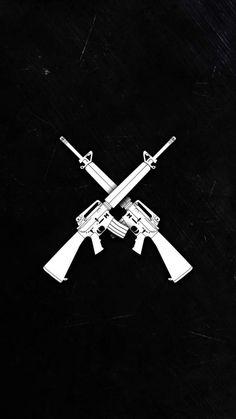 Guns iPhone Wallpaper - iPhone Wallpapers