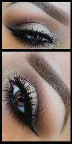 Nice makeup for brown eyes.. order your mascara now ^_^