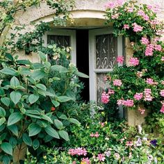 cottage French window