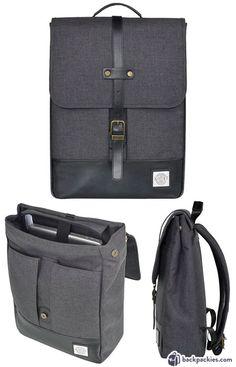 KAMP New York Flat Backpack - alternative to Herschel - See the full list backpackies.com