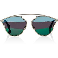 """Dior Women's \""""Dior So Real A\"""" Sunglasses ($637) ❤ liked on Polyvore featuring accessories, eyewear, sunglasses, glasses, blue, mirror glasses, tortoise shell sunglasses, tortoiseshell sunglasses, mirror lens sunglasses and blue mirrored sunglasses"""