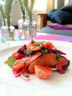 beetroot, orange & fennel salad | milliemirepoix