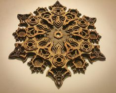 Vajra Four Sided Mandala Laser Cut Wood Art Meditation Buddhist Yoga Sacred Geometry Visionary Art Geometric Abstract Wall Art Dorja Laser Art, Laser Cut Wood, Laser Cutting, Laser Cutter Ideas, Laser Cutter Projects, Paper Structure, 3d Cnc, Visionary Art, Wood Sculpture