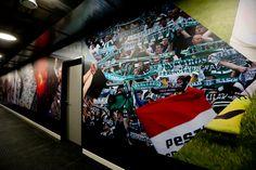 FTC Football Stadium graphic design & interior design on Behance Football Stadiums, My Works, Behance, Graphic Design, Interior Design, Fun, Inspiration, Athletic, Nest Design