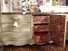 annie sloan painted furniture | Chalk Paint Furniture~Annie Sloan / Fabulous!