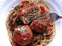 "lentil-ricotta ""meatballs"" -- these are to die for! i added some finely chopped and sauteed mushrooms finished in red wine."