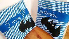 """Kissen+""""bayrisch""""++30cmx30cm++von+Little-Fashion+auf+DaWanda.com"""
