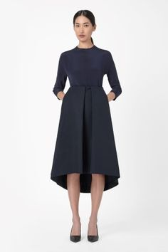 COS pleated skirt