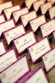 Allure Invitations.  Name cards, wedding invitations and paper goods for weddings in the Berkshires.