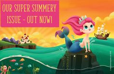 Storytime 24 Is Out Now and it's packed with summery stories to bring some sunshine into your life, including The Little Mermaid! Subscribe today at STORYTIMEMAGAZINE.COM