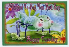 Happy Tuesday, day greetings, animated, animation, gif, glitter
