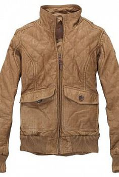 Timberland Earthkeeper Quilted leather bomber