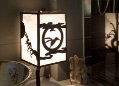 こだわりの骨董 Japanese Lighting, Kokoro, Lighthouse, Lanterns, Lamps, Landscaping, Table Lamp, Glasses, Modern